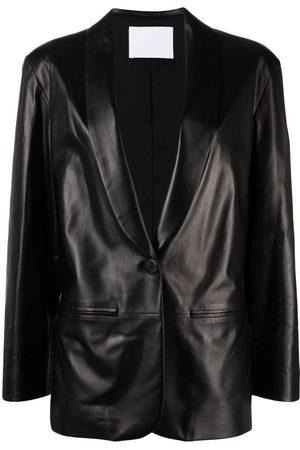 DROME Slim-cut leather blazer