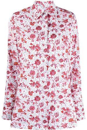 Patou Damen Blusen - Hemd mit Blumen-Print