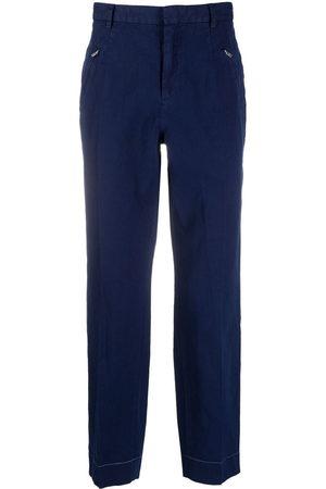 Maison Margiela Cropped-Hose mit Reißverschlusstaschen
