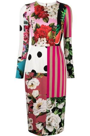 Dolce & Gabbana Damen Partykleider - Kleid mit Print