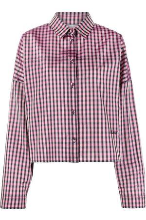 Serafini Damen Blusen - Hemd mit Check