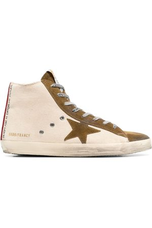 Golden Goose Francy Quarter High-Top-Sneakers - Nude