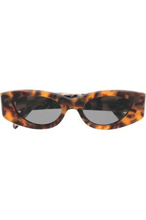 Retrosuperfuture Sonnenbrillen - Cat-Eye-Sonnenbrille in Schildpattoptik