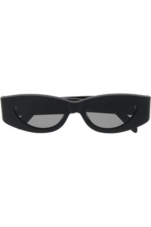Retrosuperfuture Dicke Sonnenbrille mit ovalem Gestell