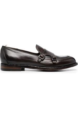 Officine creative Herren Elegante Schuhe - Monk-Schuhe mit doppelter Schnalle