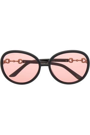 Gucci Sonnenbrillen - Horsebit Jackie-O frame sunglasses