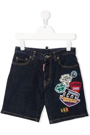 Dsquared2 Jeans-Shorts mit Patches
