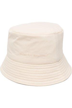 Ruslan Baginskiy Damen Hüte - Fischerhut mit Logo-Stickerei - Nude