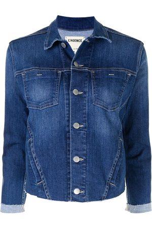 L'Agence Janelle denim jacket