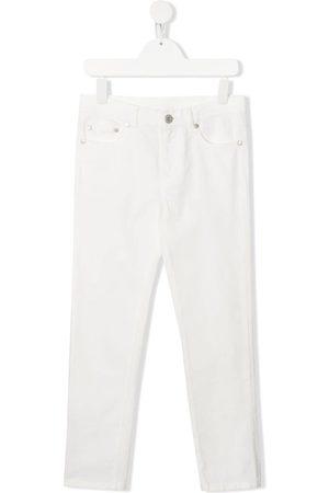 Moncler Slim - Slim-Fit-Jeans mit Logo