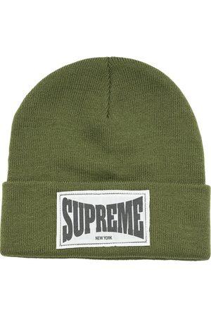 Supreme Mütze mit Logo-Etikett