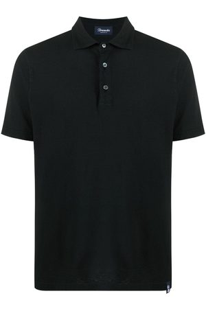 DRUMOHR Herren T-Shirts - Kurzärmeliges Poloshirt