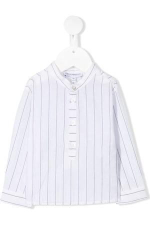 Emporio Armani Blusen - Gestreiftes Hemd