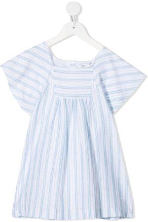 KNOT Gesmoktes Isabel Kleid mit Streifen