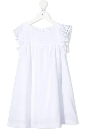 KNOT Mädchen Freizeitkleider - Camille Kleid mit Lochstickerei