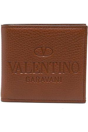 VALENTINO GARAVANI Kartenetui mit Logo-Prägung