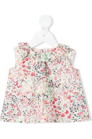 BONPOINT Bluse mit Blumen-Print