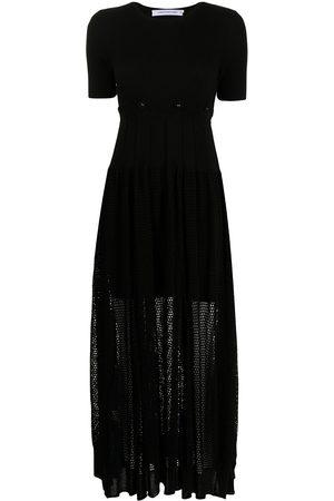CHRISTOPHER ESBER Damen Freizeitkleider - T-Shirtkleid mit Netzeinsatz
