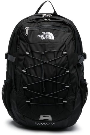 The North Face Embroidered-logo backpack