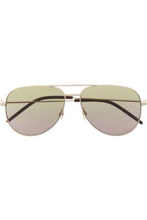 Saint Laurent Herren Sonnenbrillen - Pilotenbrille mit Farbverlauf