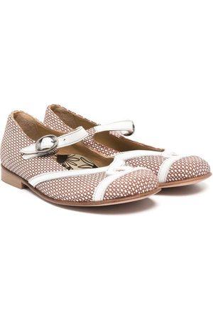 PèPè Polka dot-print ballerina shoes