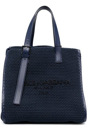 Dolce & Gabbana Herren Handtaschen - Shopper mit Webmuster