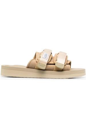 SUICOKE Sandalen - Front touch-strap sandals - Nude