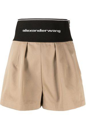 Alexander Wang Logo-print waistband