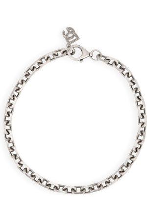 Dolce & Gabbana Herren Halsketten - Logo-charm chain necklace