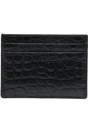 Burberry Herren Geldbörsen & Etuis - Embossed leather cardholder