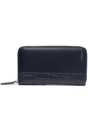 Burberry Herren Geldbörsen & Etuis - Crocodile-effect leather wallet