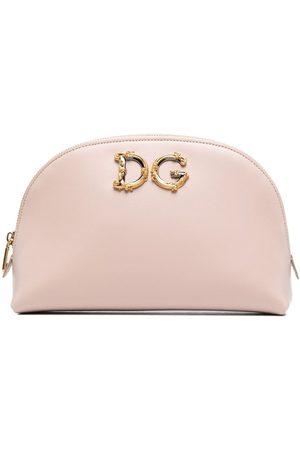 Dolce & Gabbana Damen Kulturbeutel - DG leather makeup bag