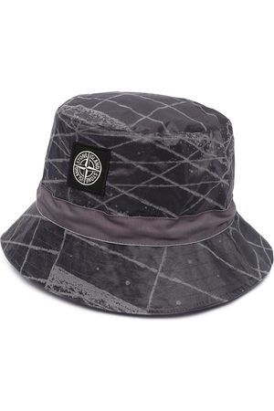 Stone Island Logo-appliqué packable hat