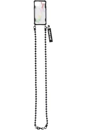 Palm Angels Herren Handy - IPhone 12 Pro-Hülle mit Kettenriemen - Nude