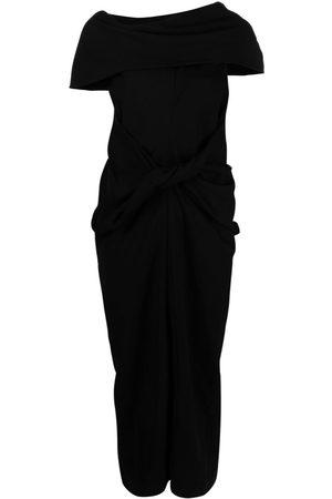 AMBUSH Asymmetric mid-length dress