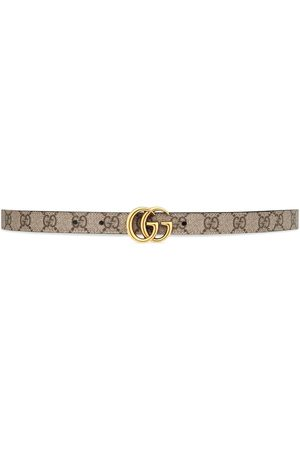 Gucci GG Marmont reversible belt - Nude