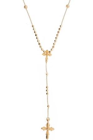 EMANUELE BICOCCHI Cross charm rosary necklace