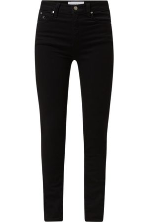 Calvin Klein Damen High Waisted - Skinny Fit High Rise Jeans mit Stretch-Anteil