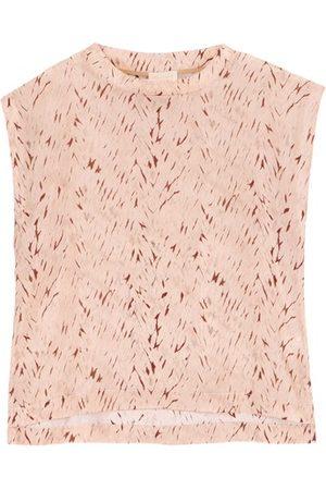 Momoni Damen Blusen - Bluse Curacao aus bedruckter Habotaiseide