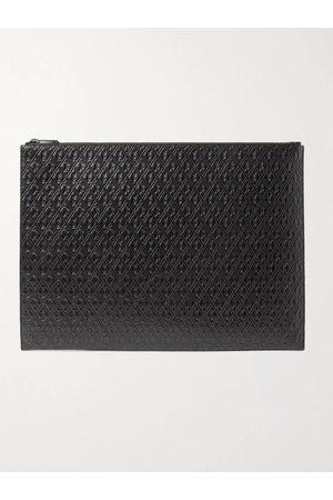 SAINT LAURENT Herren Geldbörsen & Etuis - Logo-Debossed Leather Pouch