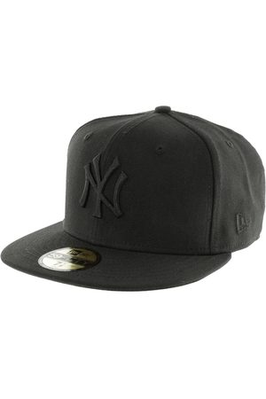 New Era Caps - 59fifty Black on Black NY Yenkees Cap