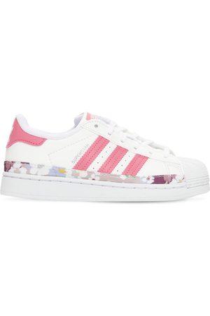 "adidas Mädchen Sneakers - Sneakers Aus Leder ""superstar"""