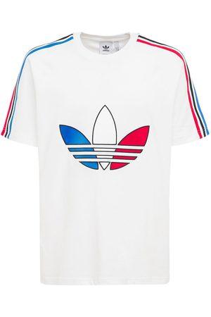 "adidas T-shirt Aus Baumwolljersey ""trefoil"""