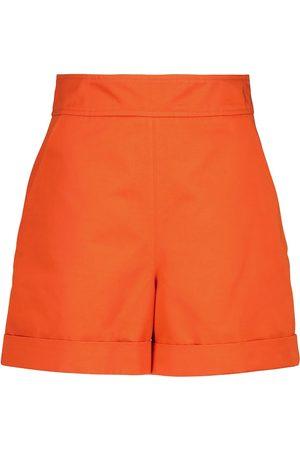 Marni Shorts aus Baumwolle und Leinen