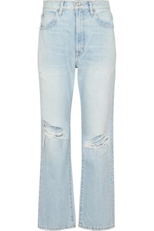 SLVRLAKE High-Rise Straight Jeans London