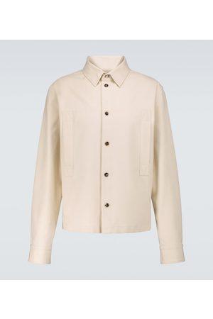 Bottega Veneta Hemdjacke aus Baumwoll-Twill