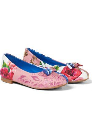 Dolce & Gabbana Ballerinas Patchwork di Sicilia