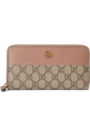 Gucci Damen Slips - GG Marmont Brieftasche mit Rundumreißverschluss
