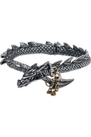 Alchemy Herren Armbänder - Dragons Lure Armband silberfarben