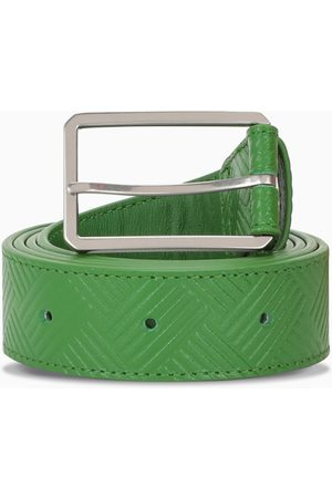 Bottega Veneta Green leather belt